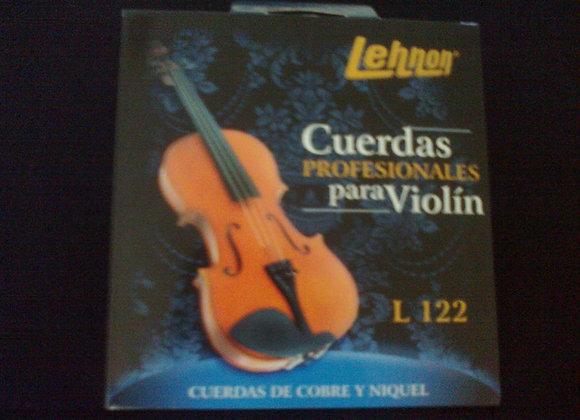Cuerdas para violìn LEHNON