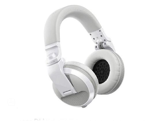 HDJ-X5 BT W Pioneer - Audífonos DJ Bluetooth circumaurales blanco
