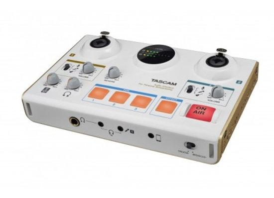 MiNi STUDIO CREATOR Tascam - Interface para transmitir online