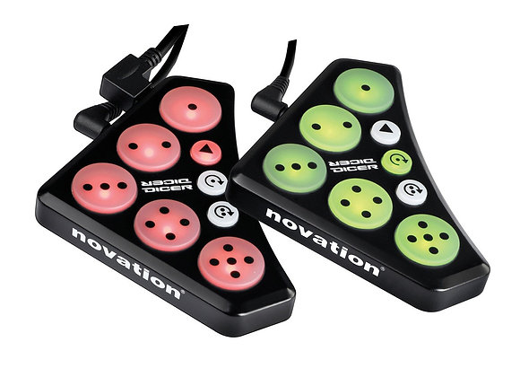 DICER Novation - Controles para SERATO/TRAKTOR