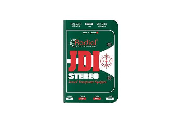 JDI Stereo - Radial - Caja directa pasiva