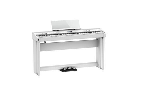 FP-90X-WHC Piano digital blanco Kit con base y unidad de pedales