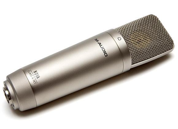 Nova M-AUDIO - Micrófono de condensador