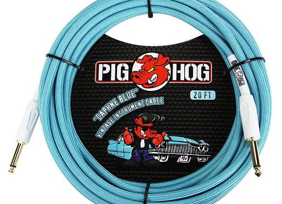 PCH20DB Pig Hog - Cable instrumento 1/4-1/4 6.10 mts