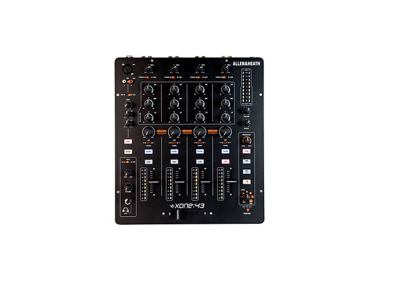 Xone 43 Allen & Heath - Mezcladora DJ 4 canales