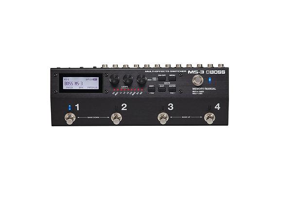 MS-3 Boss Conmutador portatil para efectos de guitarra