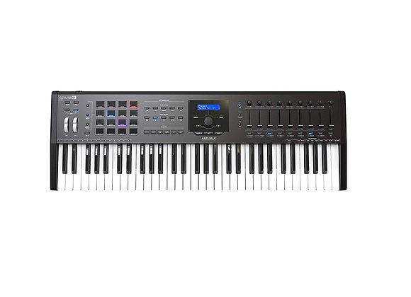 KeyLab 61 MKII Black ARTURIA - Teclado controlador MIDI avanzado 61 teclas