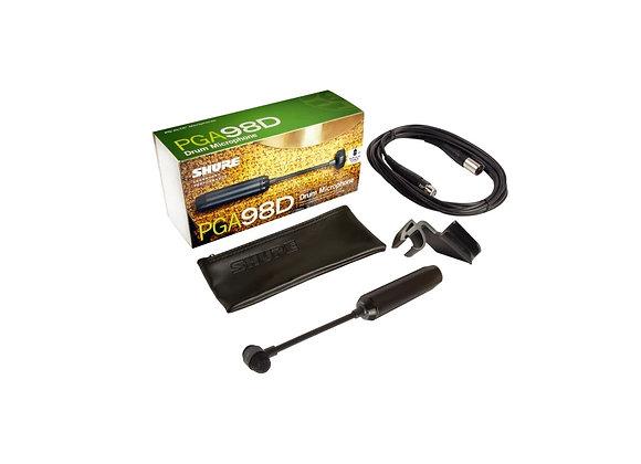 PGA98D - Shure Microfono condensador cardioide para bateria