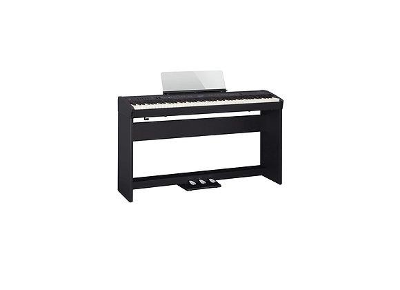 FP-60X-BKC Piano digital negro Kit con base y unidad de pedales