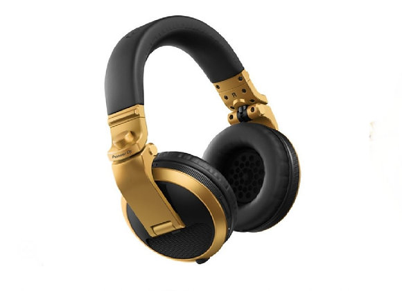 HDJ-X5 BT G Pioneer - Audífonos DJ Bluetooth circumaurales oro