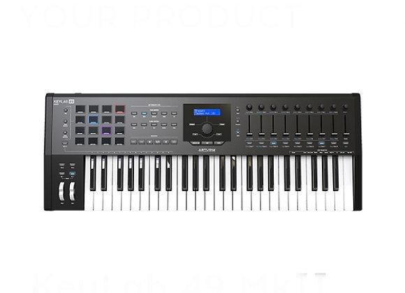 KeyLab 49 MKII Black ARTURIA - Teclado controlador MIDI avanzado 49 teclas