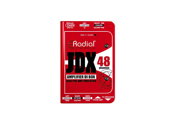 JDX 48 - Radial Caja directa activa