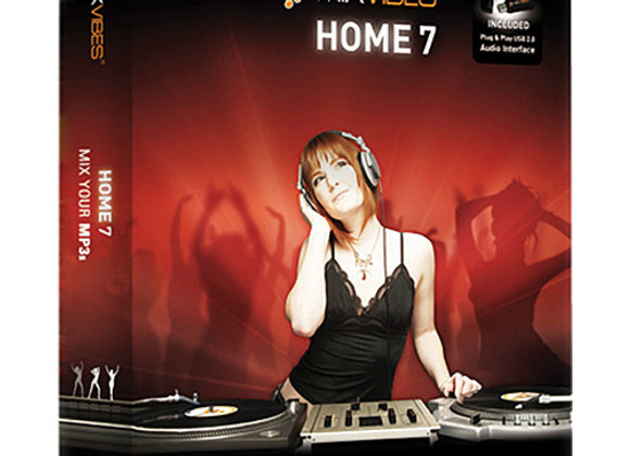 HOME 7 Mixvibes - Software con interface USB