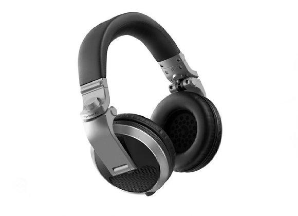 HDJ-X5 BT S Pioneer - Audífonos DJ circumaurales plata