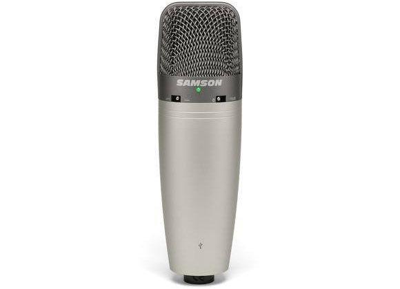 CO3U SAMSON - Micrófono condensador USB