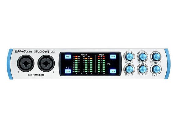 Studio 68 PRESONUS - Interface alta definición 4x4