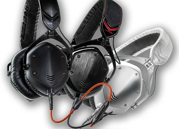 Crossfade M100 V-MODA - Audífonos color negro mate y blanco/plata disponibles
