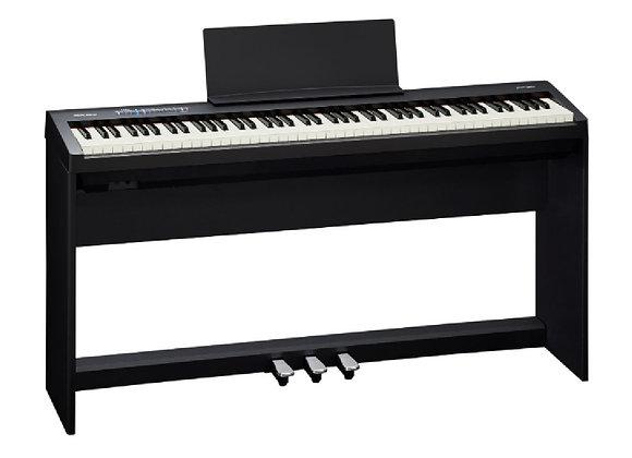 FP-30-BK-C Roland - Piano electrónico con soporte y pedales