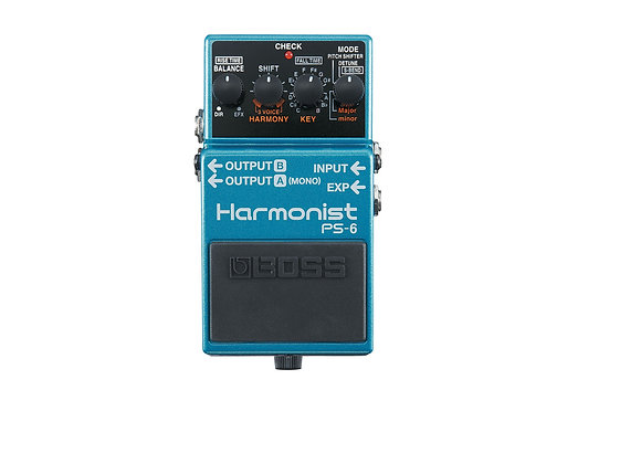 PS-6 Boss Pedal Compacto Harmonist