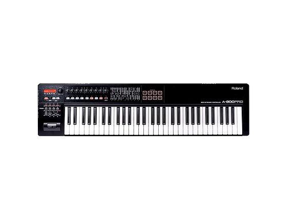 A-800PRO-R Roland - Teclado controlador MIDI 61 teclas