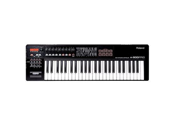A-500PRO Roland - Teclado controlador MIDI 49 teclas