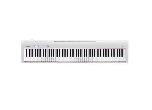 FP-30WH Roland Piano Digital 88 teclas color blanco