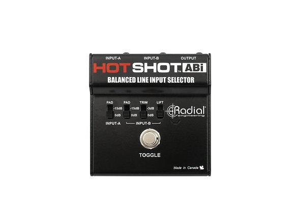 HotShot ABi - Radial Conmutador para dos entradas una salida