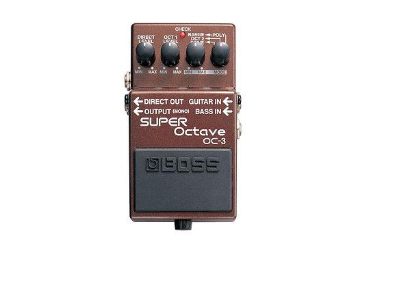 Oc-3 Boss Pedal compacto super octave