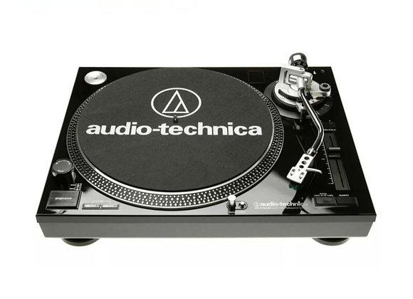 AT-LP120-USB-BK Audio-Technica - Tornamesa de motor