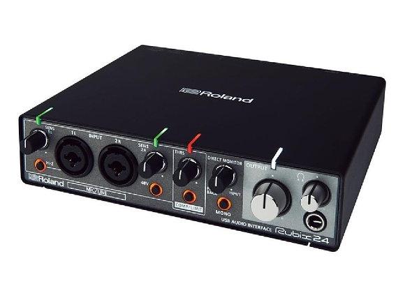 Rubix24 Roland - Interface audio/MIDI 2 entradas/4 salidas
