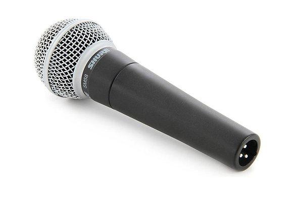 SM58 SHURE - Micrófono vocal de mano