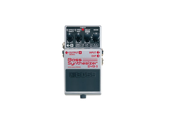 Syb-5 Boss Pedal Compacto P/bajo Bass Synthesizer