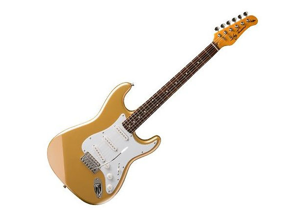 JT-300-SHG Jay Turser - Guitarra Eléctrica Stratocaster Dorada