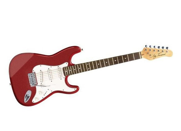 JT-300-MRD Jay Turser - Guitarra Eléctrica Stratocaster Roja