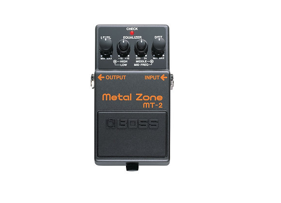 Mt-2 Boss Pedal Compacto Metal Zone