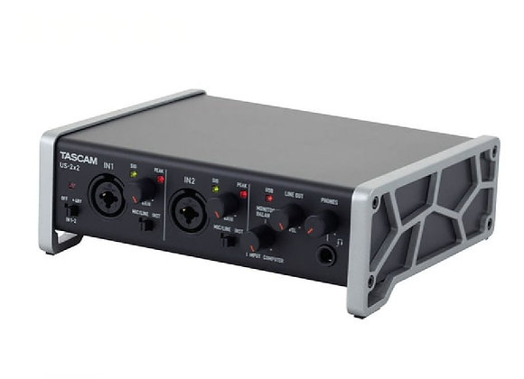 US-2X2 TASCAM - Interface audio/MIDI 2x2