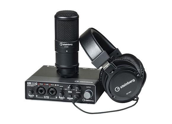 UR22C Recording Pack Steinberg - Kit de grabación