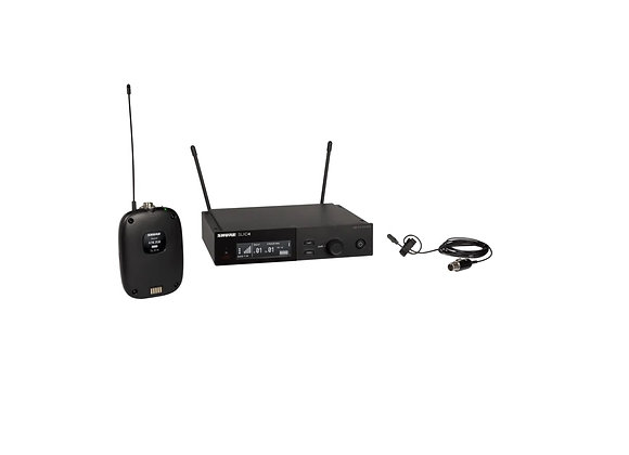 SLXD14/DL4 - Shure Sistema inalambrico transmisor bodypack SLXD1 y microfono