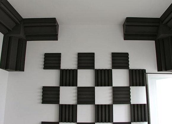 RIB 4 AudioWave (40 paneles 30x30cm + 4 trampas de graves)