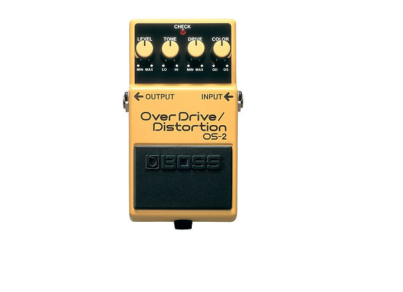 OS-2 Boss Pedal compacto OverDrive Distortion