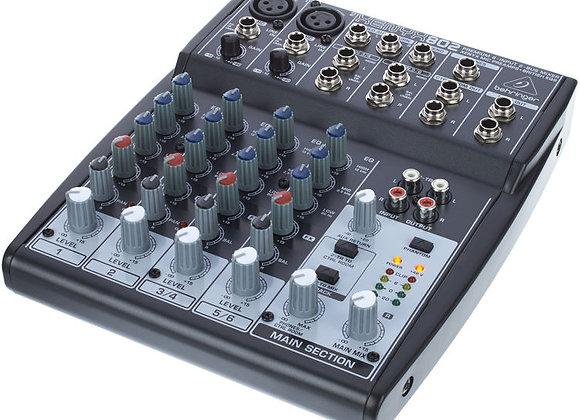 Xenyx 802 Behringer - Mezcladora