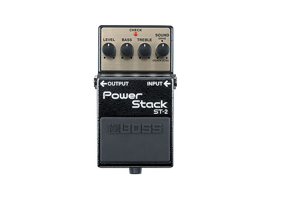 St-2 Boss Pedal Compacto Power Stack