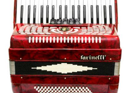 Teclas Rojo 3780 5 Registros FARINELLI