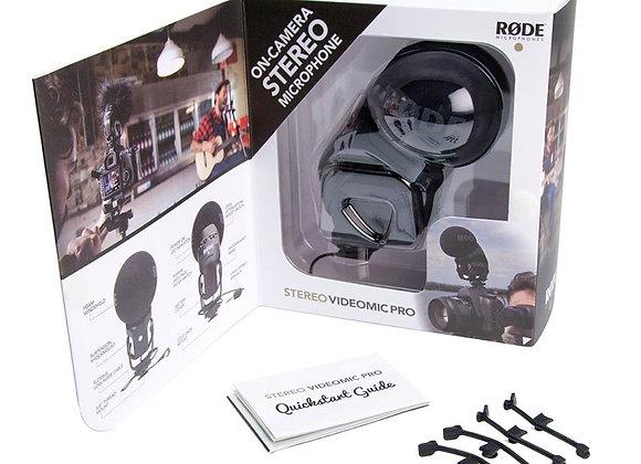 Stereo VideoMic Pro - Micrófono estereo de camara