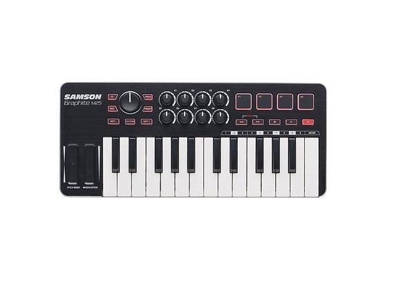 Graphite M25 SAMSON Mini - Teclado controlador MIDI 25 teclas
