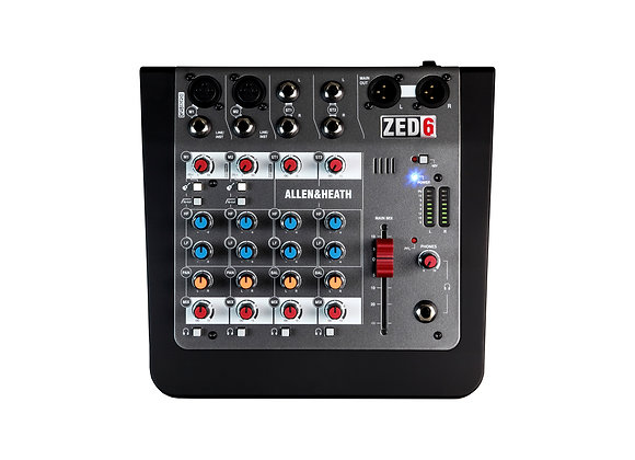 ZED-6 Allen & Heath - Mezcladora