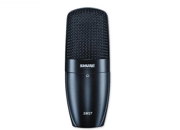 SM27-SC Shure - Micrófono condensador vocal/instrumento