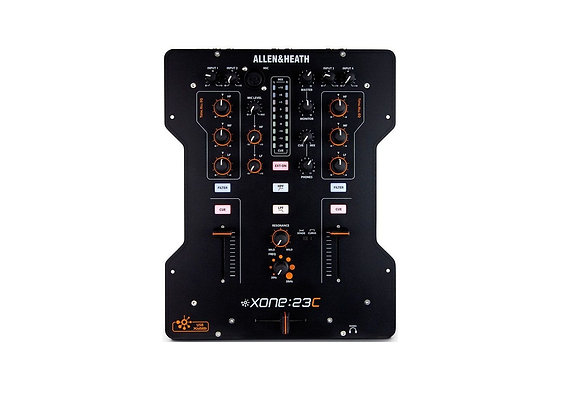 Xone 23C Allen & Heath - Mezcladora DJ 2 canales con interface de audio