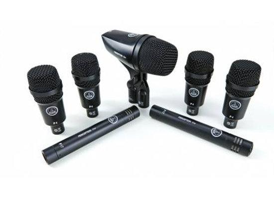 Drum Set Session 1 AKG - Kit 7 micrófonos para batería