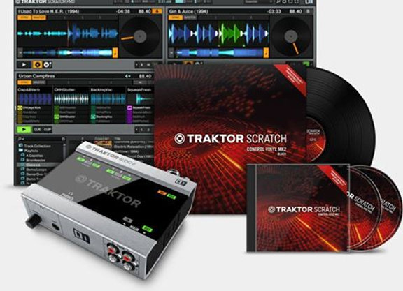 Traktor Scratch A6 - Software, interface, discos